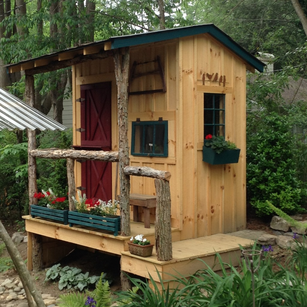 The Potting Shed, Hilt Street Garden, Brevard, Transplanted and Still Blooming, Cinthia Milner